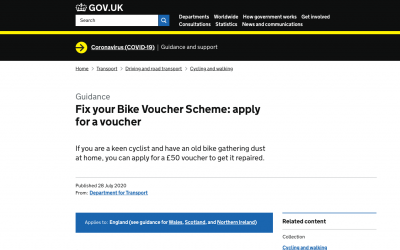 Fix Your Bike Voucher Scheme
